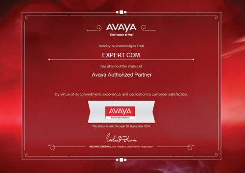 Certificat Expert com