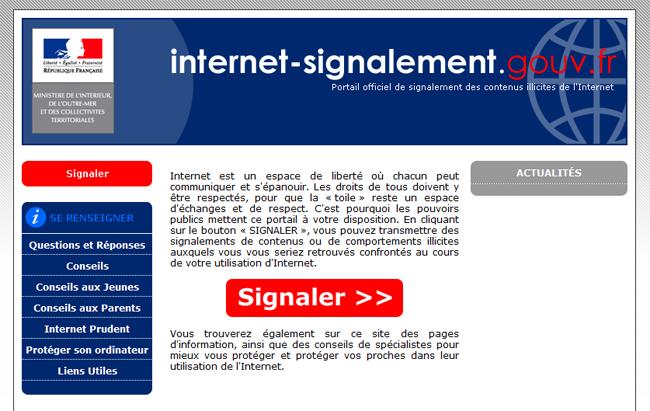 Internet Signalement Gouvernement Sécurité Informatique Expert-Com