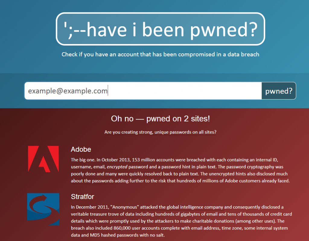 Expert-Com I Have Been Pwned mots de passe passwords