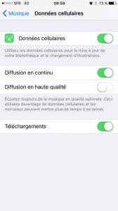 iPhone Consommation Data Expert-Com