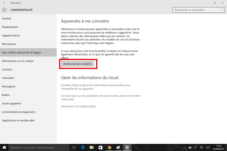 Windows 10 Cortana Microsoft
