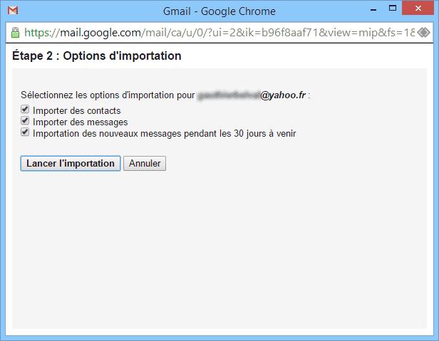 De Yahoo à Gmail