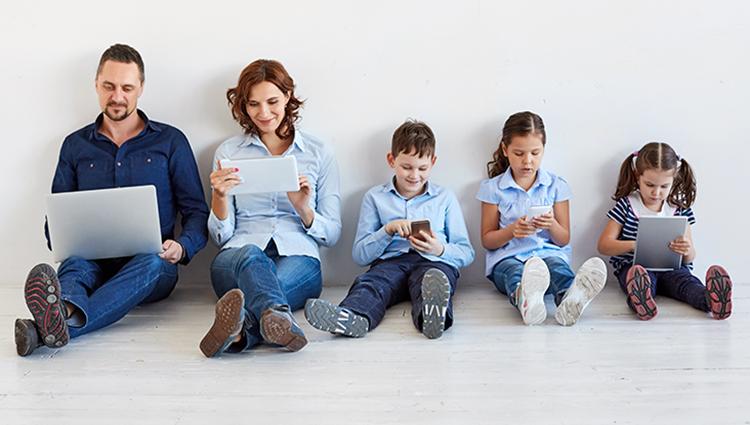 Sécurité des enfants sur le web cybersécurité safety