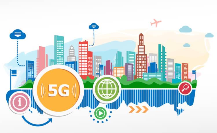 5G télécoms opérateur 4G
