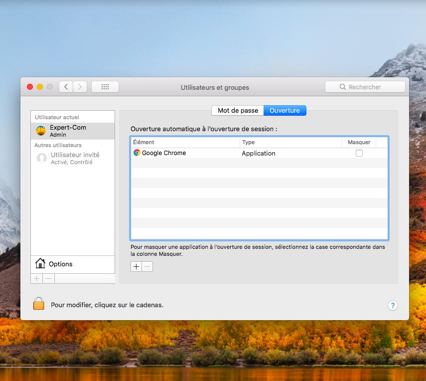 MacBook problèmes de démarrage