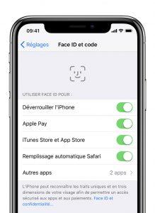 iPhone : mot de passe