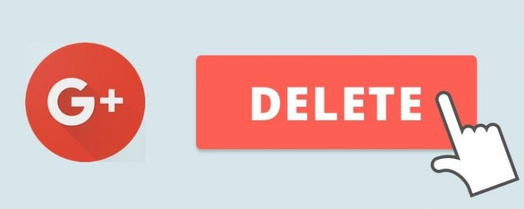 Supprimer profil Google+