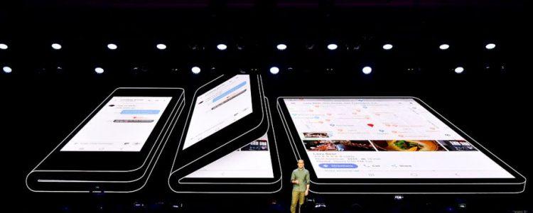 Keynote Samsung : portable pliable