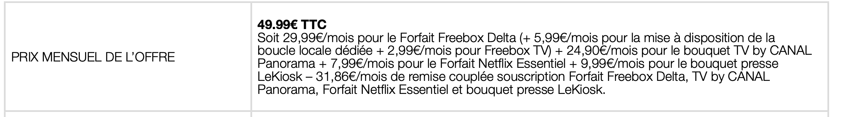 Free : nouvelle Freebox Delta