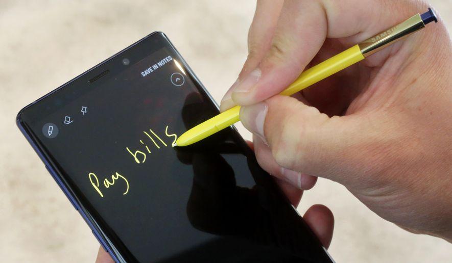 Samsung Galaxy Note 9 épingler Notes