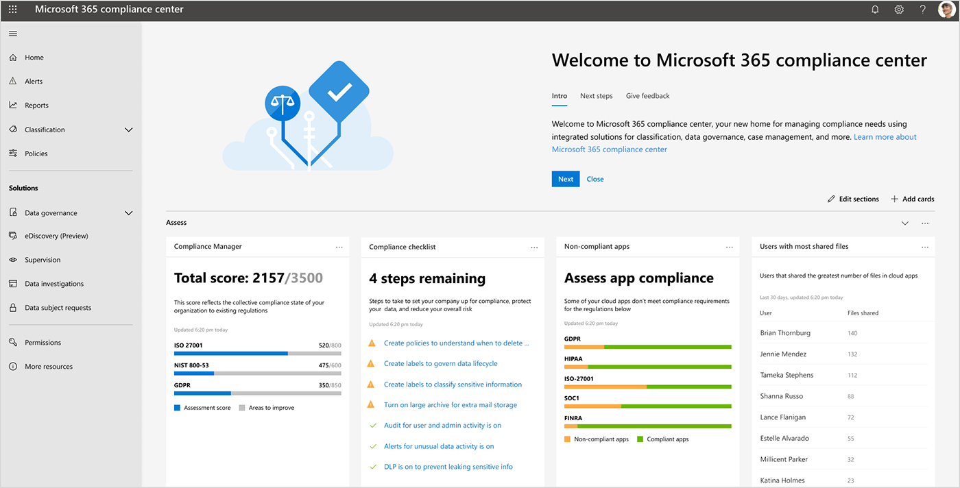 Microsoft 365 et le RGPD / GDPR - Image Microsoft